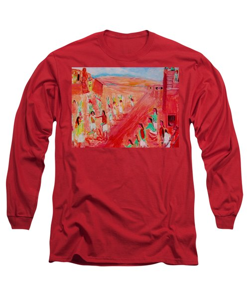 Hopi Indian Ritual Long Sleeve T-Shirt