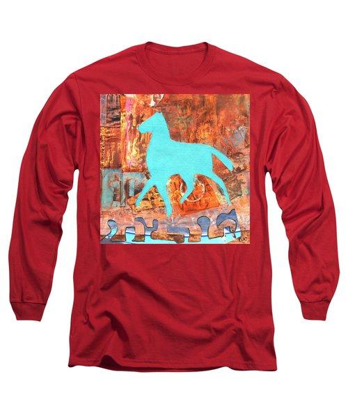Horse Remix Long Sleeve T-Shirt