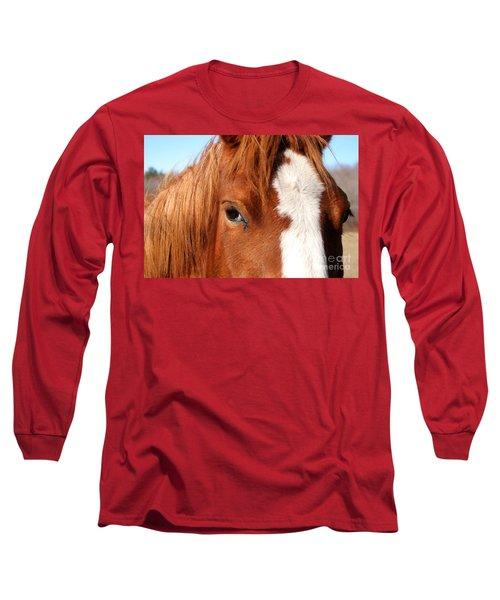 Horse's Mane Long Sleeve T-Shirt