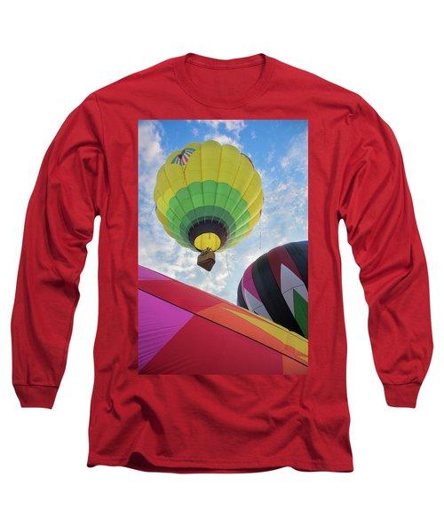 Hot Air Balloon Takeoff Long Sleeve T-Shirt