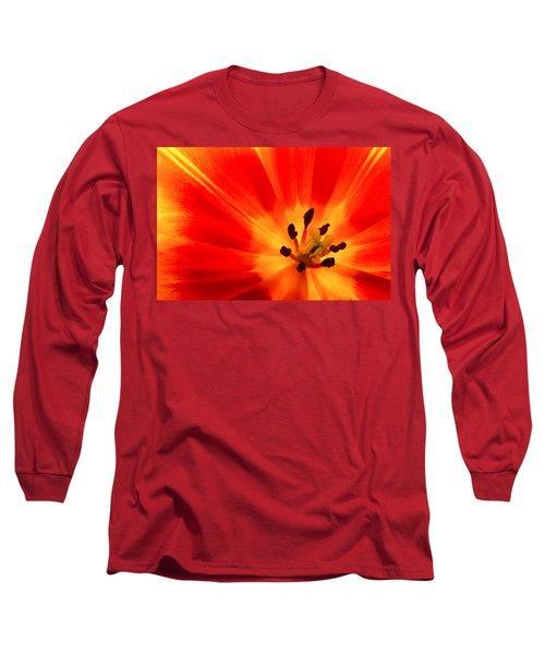 Hot Air Tulip Long Sleeve T-Shirt