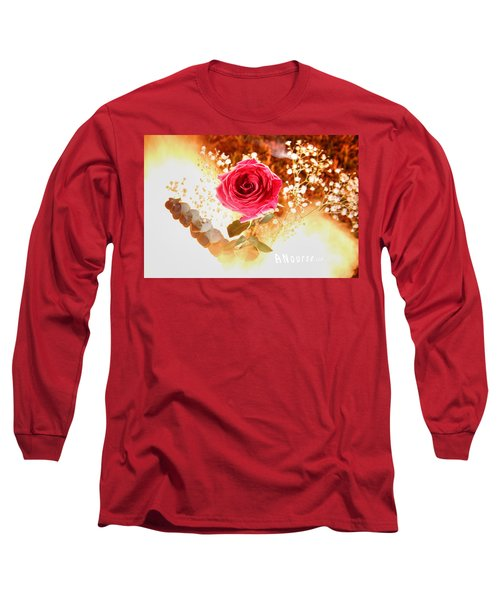 Hot Beauty Long Sleeve T-Shirt by Andrew Nourse