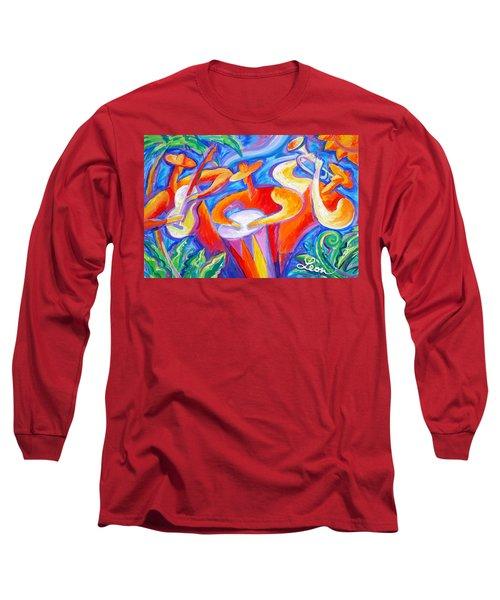 Hot Latin Jazz Long Sleeve T-Shirt