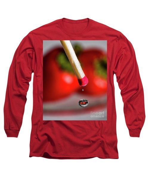 Hot Pepper Drops Long Sleeve T-Shirt