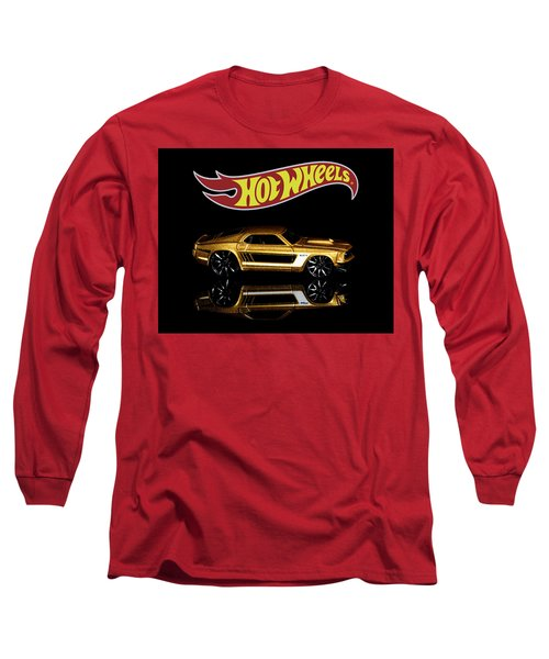 Long Sleeve T-Shirt featuring the photograph Hot Wheels '69 Ford Mustang by James Sage