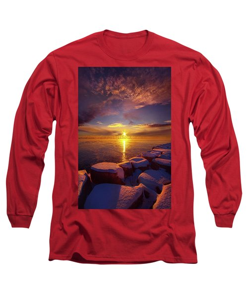 Long Sleeve T-Shirt featuring the photograph How Loud The Silence Is by Phil Koch