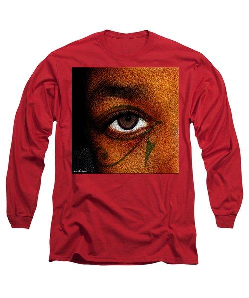 Hru's Eye Long Sleeve T-Shirt by Iowan Stone-Flowers