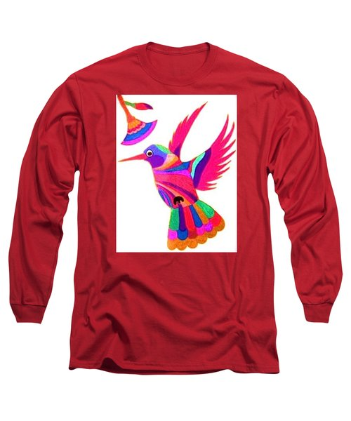 Humming Bird Long Sleeve T-Shirt
