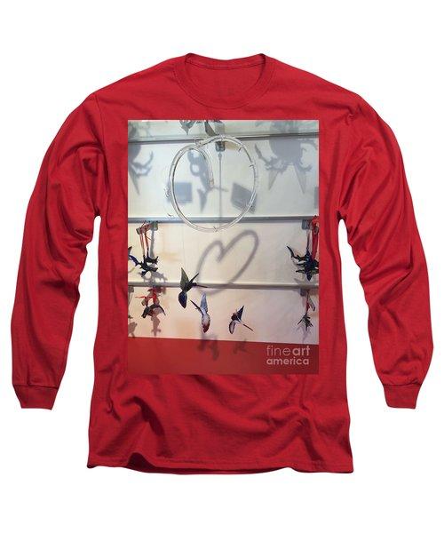 Hummingbird Shadows Long Sleeve T-Shirt