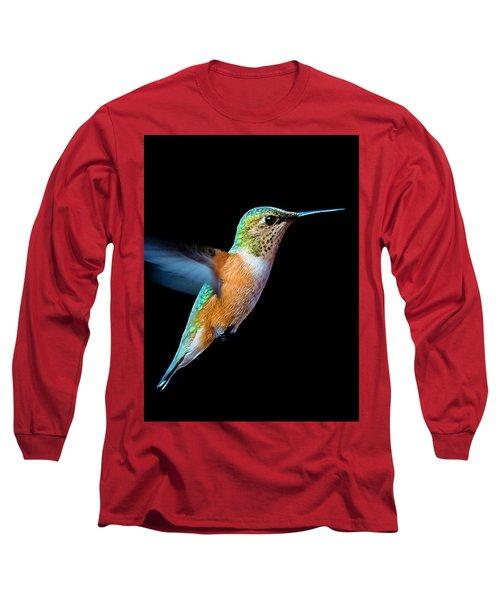 Hummming Bird Long Sleeve T-Shirt