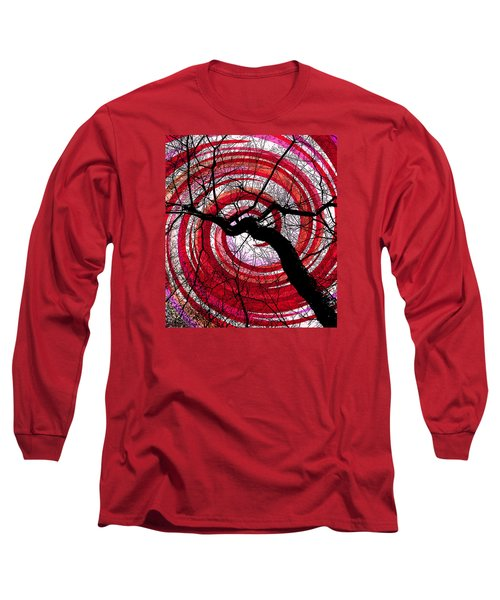 Long Sleeve T-Shirt featuring the photograph Hypnotic Nature by Shawna Rowe