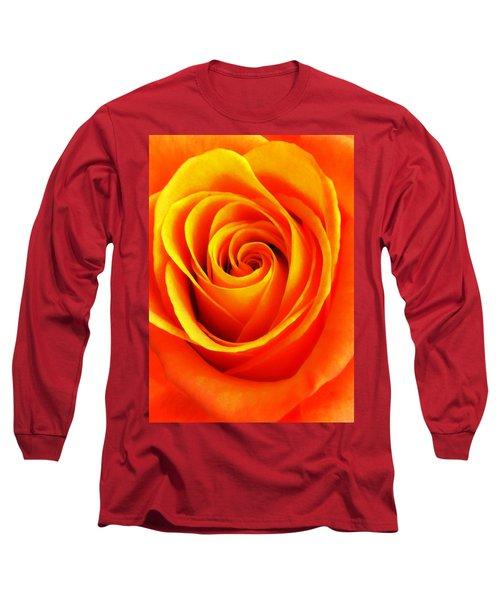 Hypnotic Orange Long Sleeve T-Shirt
