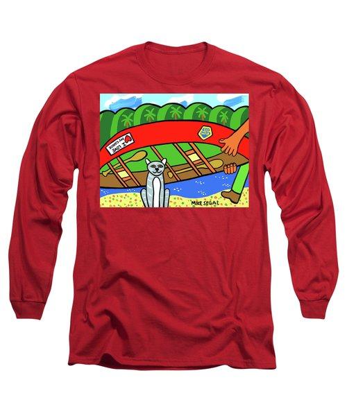 I Love My Canoe Long Sleeve T-Shirt