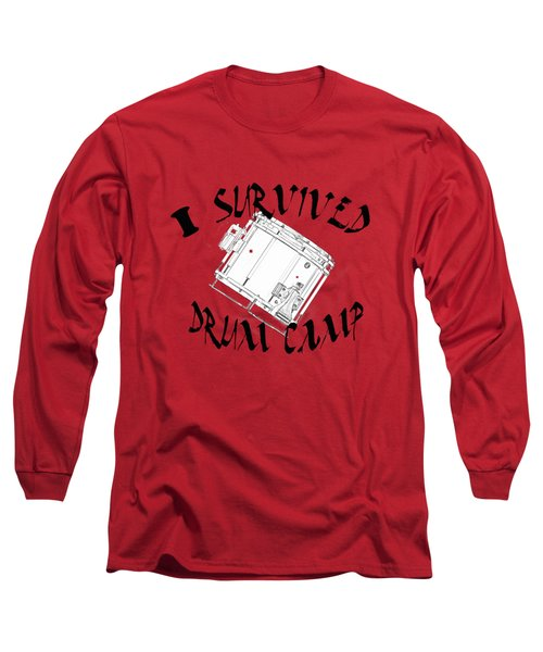 I Survived Drum Camp Long Sleeve T-Shirt