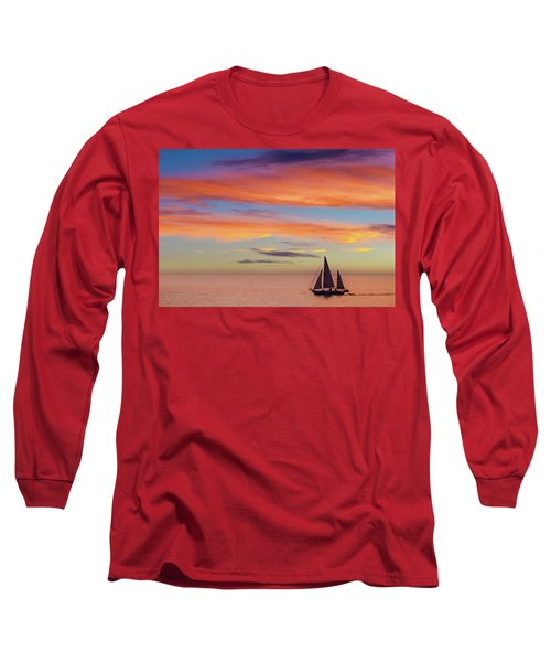 I Will Sail Away, And Take Your Heart With Me Long Sleeve T-Shirt