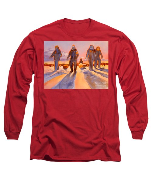 Ice Men Come Home Long Sleeve T-Shirt