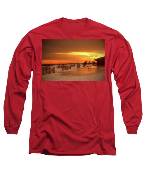 Iced Sunset Long Sleeve T-Shirt