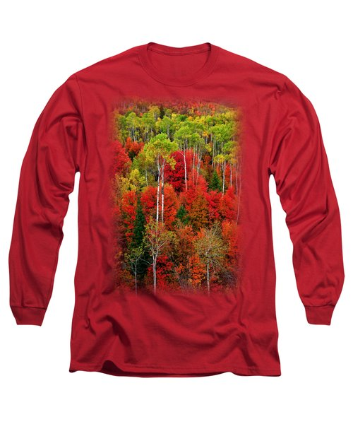 Idaho Autumn T-shirt Long Sleeve T-Shirt by Greg Norrell