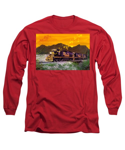 If I Had A Magic Wand Long Sleeve T-Shirt by J Griff Griffin