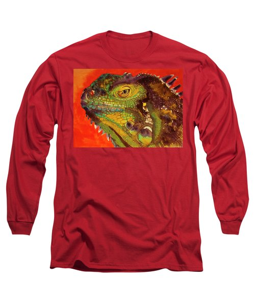 Iggy Long Sleeve T-Shirt by Cynthia Powell