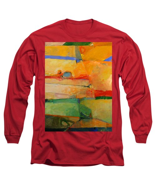 Long Sleeve T-Shirt featuring the painting I'm In Corn  by Cliff Spohn