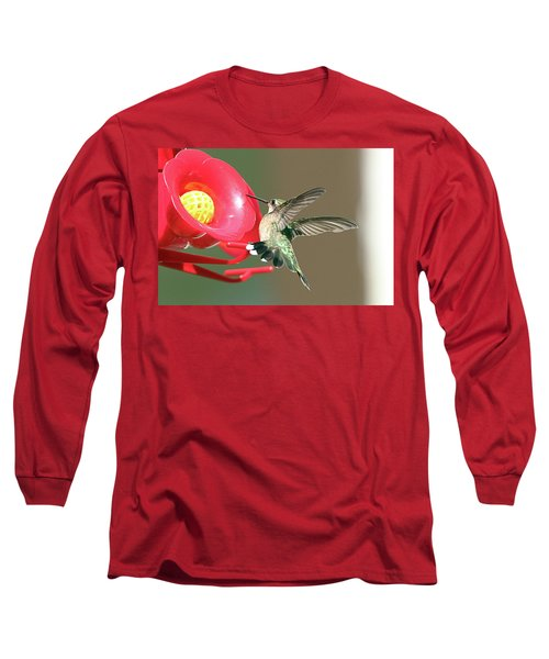 I'm Out Of Here Long Sleeve T-Shirt by David Stasiak