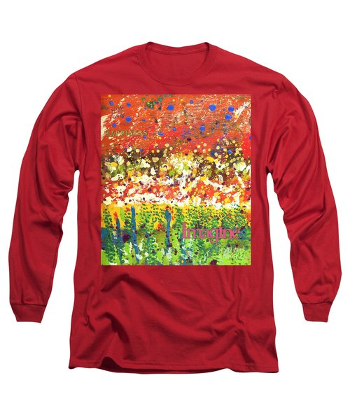 Imagine Happiness Long Sleeve T-Shirt