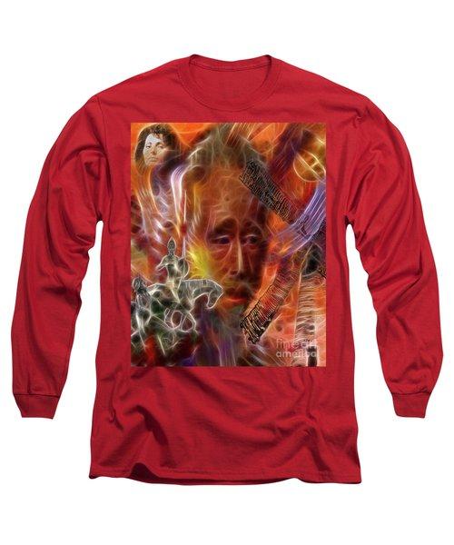 Impossible Dream Long Sleeve T-Shirt by John Robert Beck