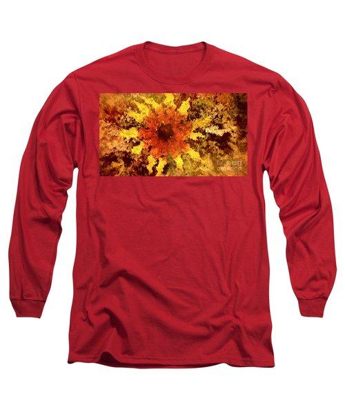 Impressionistic Petals Long Sleeve T-Shirt