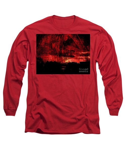In A Red World Long Sleeve T-Shirt