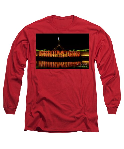 In The Light Of Magna Carta Long Sleeve T-Shirt by Werner Padarin