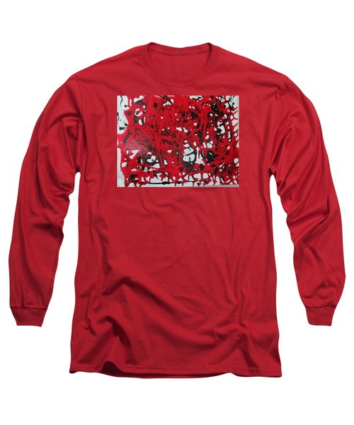 In  The Midst Of Passion Long Sleeve T-Shirt by Sharyn Winters