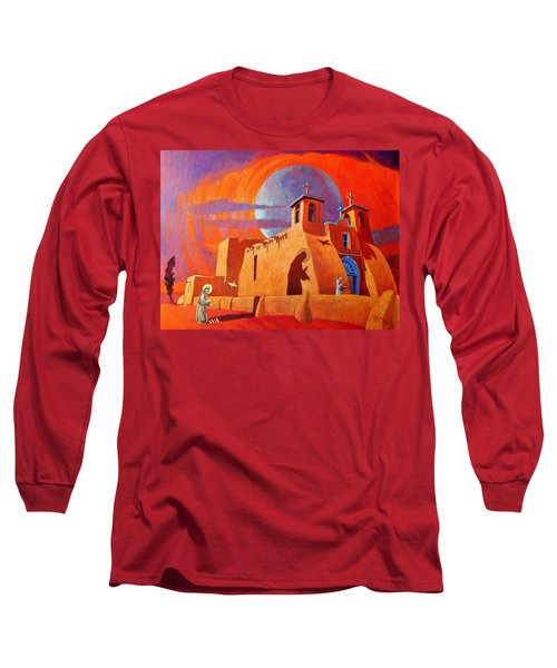 In The Shadow Of St. Francis Long Sleeve T-Shirt by Art West