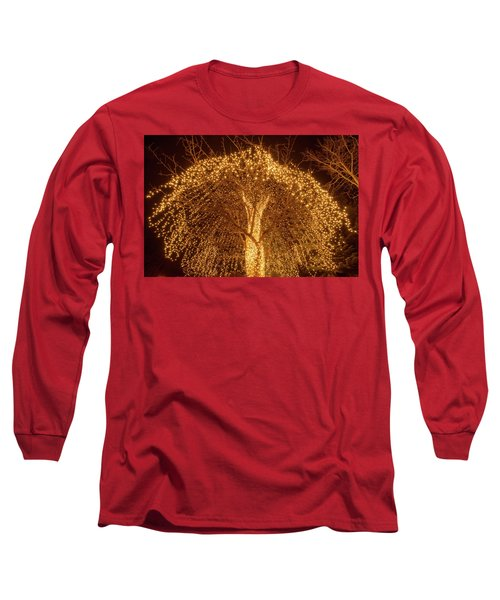 Incandescent Branches  Long Sleeve T-Shirt