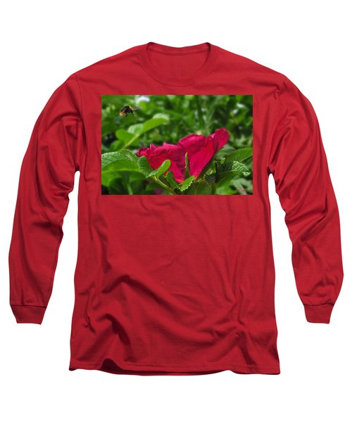 Incoming Rose Long Sleeve T-Shirt