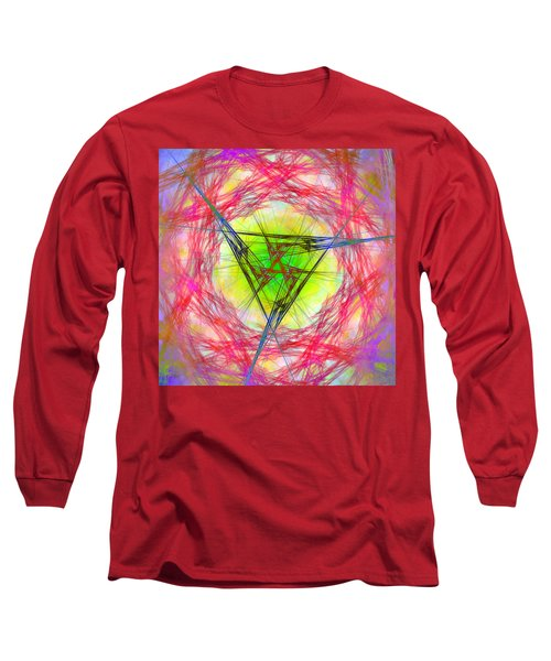 Incrusaded Long Sleeve T-Shirt