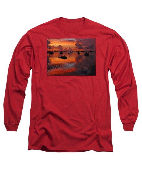 Indian River Sunrise Long Sleeve T-Shirt