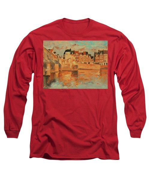 Indian Summer Sunday Sunset Long Sleeve T-Shirt