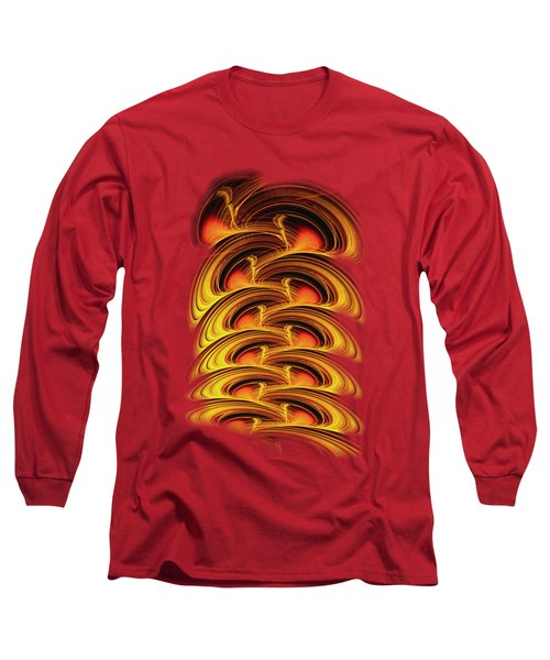 Inferno Long Sleeve T-Shirt by Anastasiya Malakhova