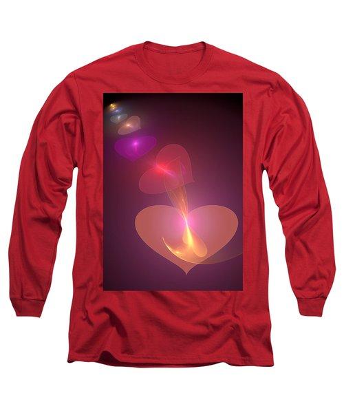 Long Sleeve T-Shirt featuring the digital art Infinite Love by Svetlana Nikolova