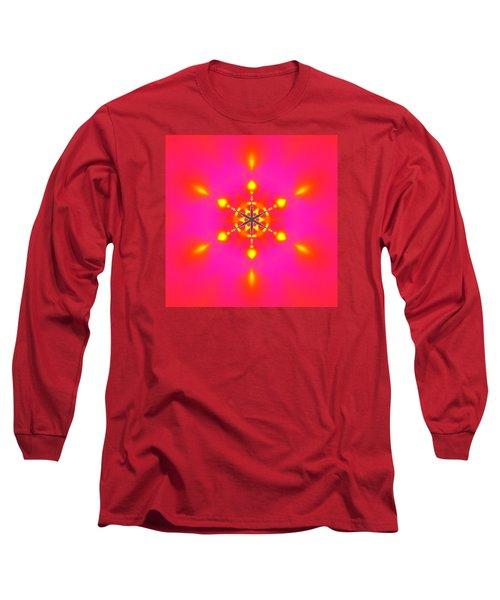 Long Sleeve T-Shirt featuring the digital art Inner Comet 3 by Robert Thalmeier