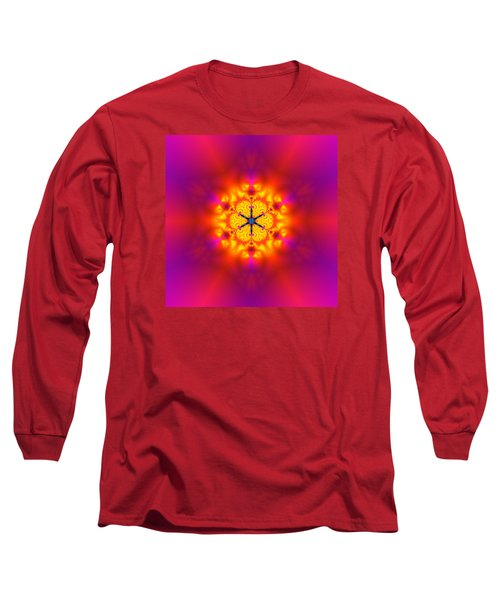 Inner Comet Long Sleeve T-Shirt by Robert Thalmeier