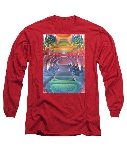 Long Sleeve T-Shirt featuring the digital art Inner Sanctum by Lyle Hatch