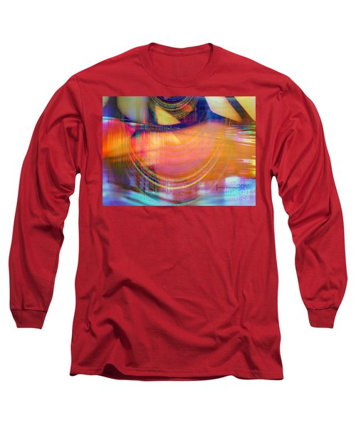 Long Sleeve T-Shirt featuring the digital art Inner View by Fania Simon