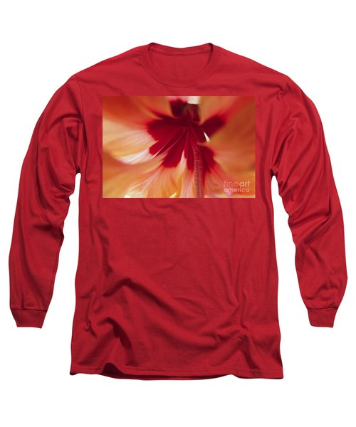 Inside Hibiscus Long Sleeve T-Shirt