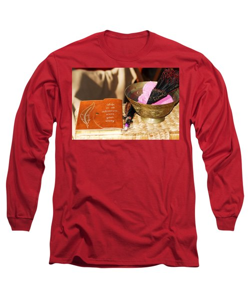 Inspiration For Living Long Sleeve T-Shirt