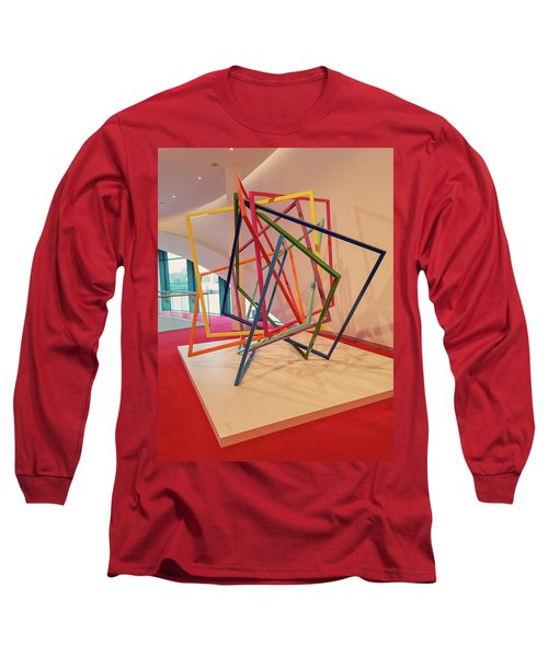 Interior Of Musical Theater Hamburg Long Sleeve T-Shirt
