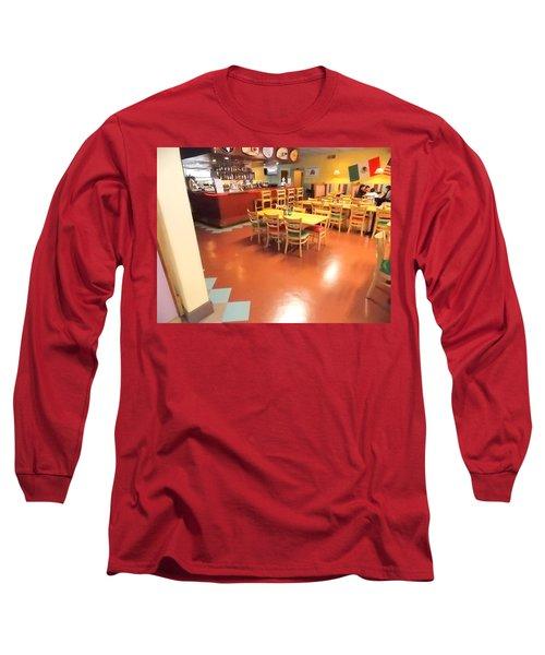 Interior Restaurant Long Sleeve T-Shirt