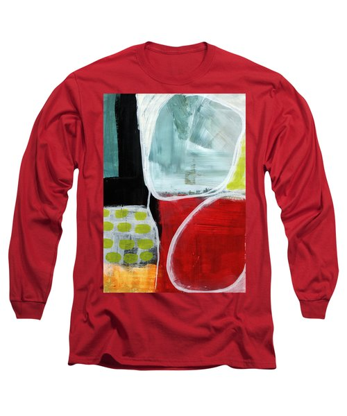 Intersection 37- Abstract Art Long Sleeve T-Shirt