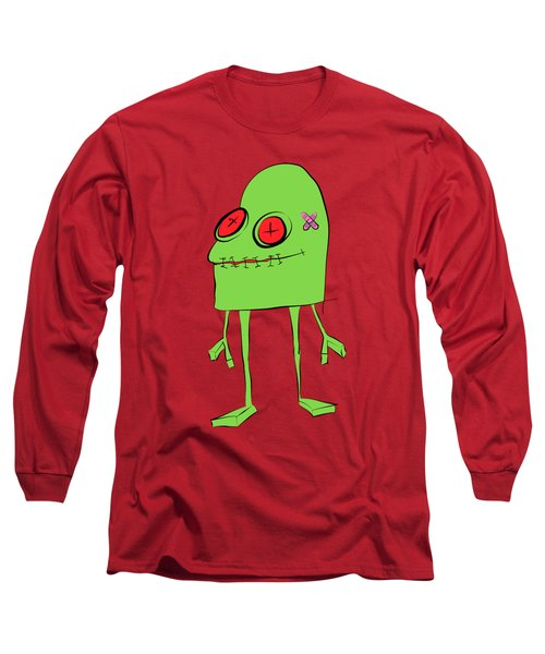 Long Sleeve T-Shirt featuring the drawing Introducing Obo by Bruce Stanfield